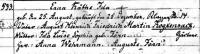 Roggensack/Taufe/1902_Taufe_ErnaKaetheIdaRoggensack_Luebeck.PNG