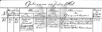 Roggensack/Taufe/1860_Taufe_AnnaElisePaulineMariaRoggensack_Warnemuende.PNG