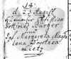 Buerger/Heiraten/1785_Heirat_ChristianGottliebBuerger_MargarethaMagdalenaDorotheaLietz_Schwerin.PNG